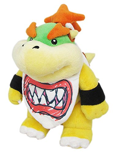 Little Buddy Super Mario All Star Collection 1424 Bowser Jr. Stuffed Plush, 8