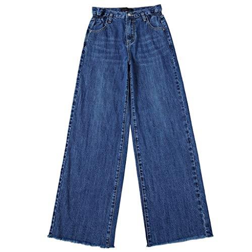 Larghi 1 Vita Pantaloni A Alta Jeans Rxf Con USzaqp
