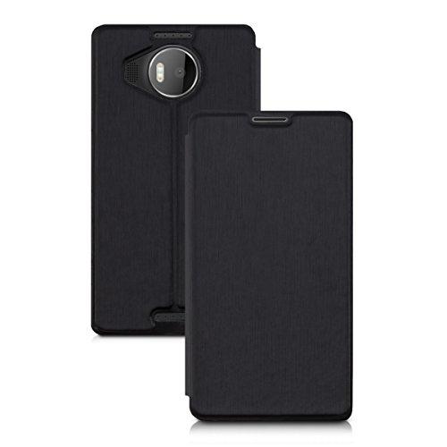 Book Cover Black Xl : Kwmobile case for microsoft lumia xl book style flip