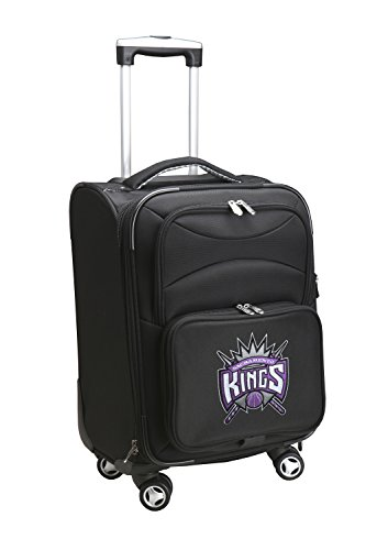 NBA Domestic Carry-On Spinner, 20-Inch, Black
