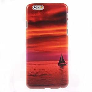 CuteFaiy Cases For Apple Iphone Boat Design Hard Case for iPhone 6