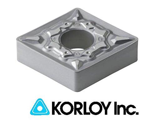 Korloy Carbide Insert, Insert #: CNMG 431 HA (Pack of 10)