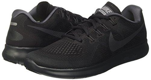 2017 Grey Nike Entrenamiento Free Negro Rn 003 Wmns cool dark Grey De anthracite Mujer Para Zapatillas black SttrZxU