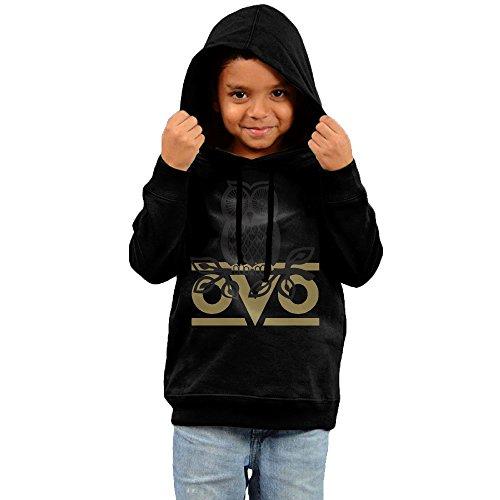 Costume Girl Trophy (FGFD Infant Owl OVO Boy's & Girl's Sweatshirt Black Size 5-6)