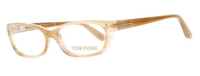 48d35ca5e8 Tom Ford Brille FT5230 024, Lunettes de Soleil Femme, Marron (Braun ...