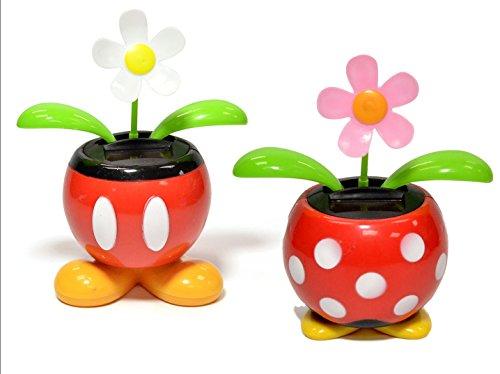 Disney Mickey and Minnie Solar Dancing Flowers Bundle