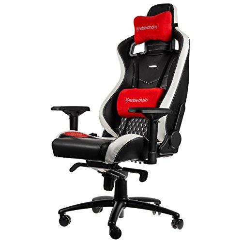 noblechairs EPIC Echtleder Gaming Stuhl -...