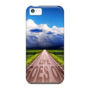 Defender Case For Iphone 5c, Life Pattern