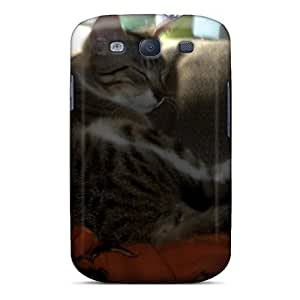 Premium Tpu Isabelamber's Tabby Howie Cover Skin For Galaxy S3