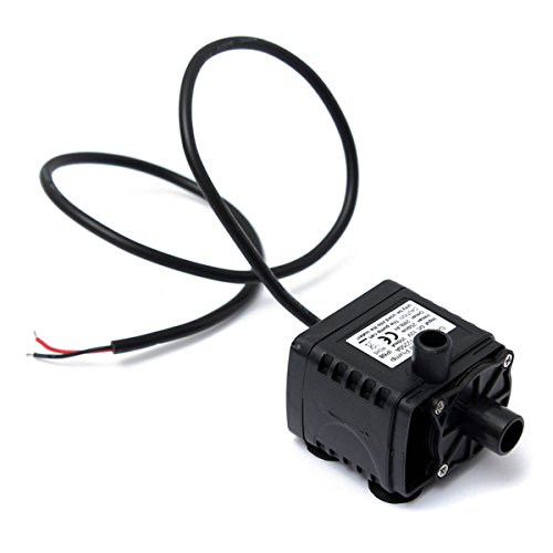 12V Car Cooling Solar Brushless Submersible Water Pump Fountain - 7