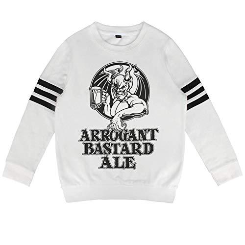 jkthtr rtgjrtg Sweatshirt Print Arrogant-Bastard-Ale-from-Stone-Brewing-Co.-Beer- Graphic Hoodies for Boys Girls