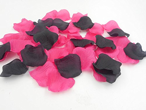 1000PCS-Decorative-Artificial-Silk-Fabric-Mixed-Rose-Petals-for-Romantic-Night-Wedding-Aisle-Runner-Hot-Pink-and-Black-Party-Decorations