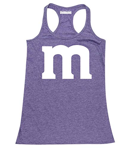 Promotion & Beyond M Halloween Team Costume Funny Party Women's Tank Top, S, H. Purple -