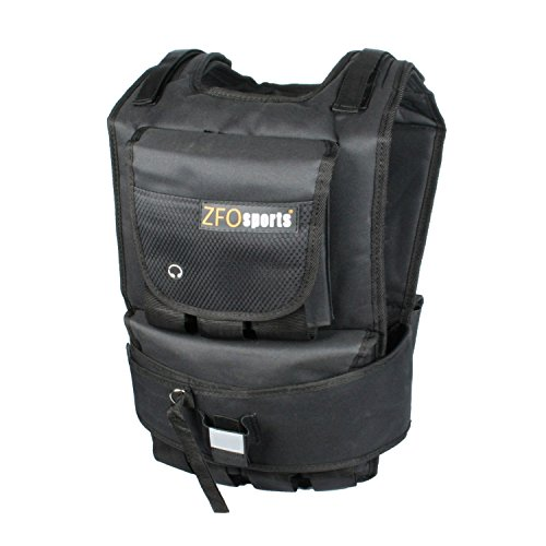 ZFOsports Weighted Vest 40lbs/60lbs/80lbs (60lbs)