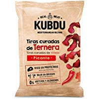 Kubdu KUBDU Mediterranean Biltong Tiras Curadas de Ternera