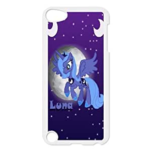 ipod touch 5 phone cases White My Little Pony cell phone cases Beautiful gift YTRE9373531