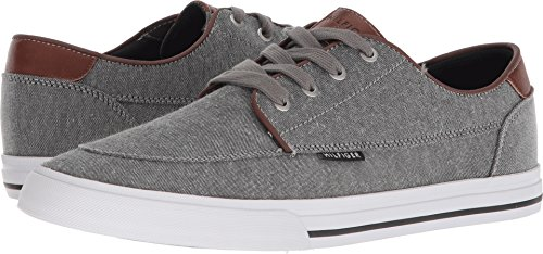 Tommy Hilfiger Men's Peril3 Boat Shoe, Grey, 10 M US