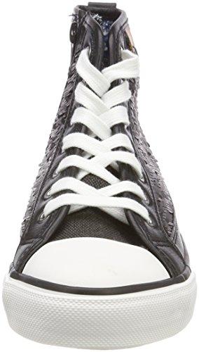 Toe Mujer Cap Sequin Zapatillas Para Fritzi Negro Preußen black Hanna Altas Sneaker Aus wFWnOvtf