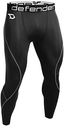 Defender Men's Compression Baselayer Running Tights