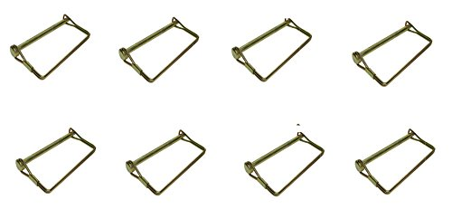 Cheapest Price! Buyers 66070 Wire Lock Pin 1/4 X 3-3/4 Square (8)