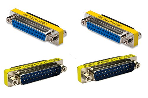 Top-Longer 25 Pin 2 Male to Male 2 Female to Female Parallel (25 Pin Parallel Interface)