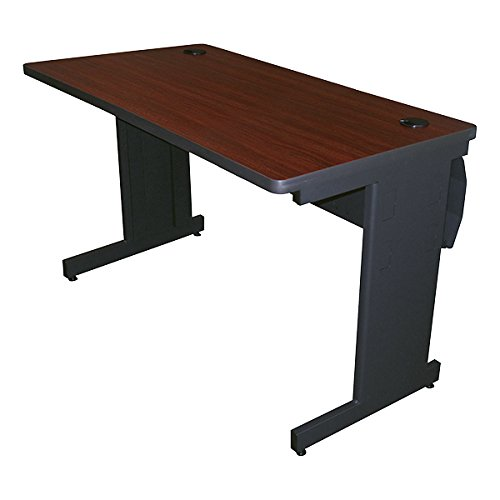 Pronto School Training Table w/ Lockable Wire Management Raceway (24'' W x 48'' L)
