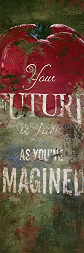 12W x 36H Your Future by Rodney White - Stretched Canvas