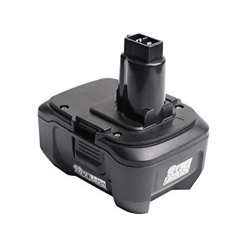 1 pack 18 Volt 3.0Ah Lithium-Ion Replacement Battery for DEWALT 18V battery DC9180 DC9096 DC9099 DC9181 DC9182 3000mAH