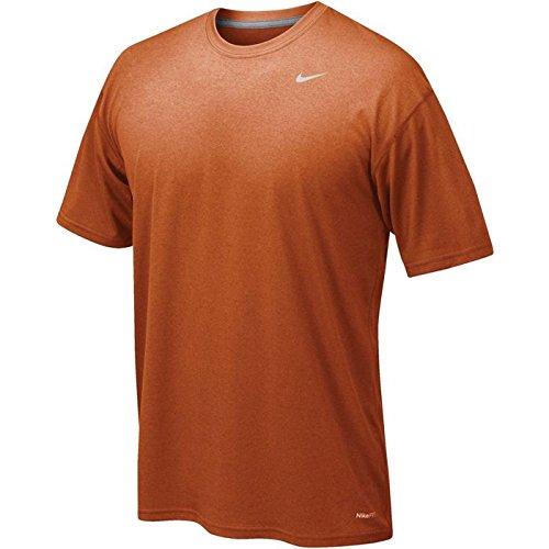 Nike Legend Poly SS Tee–Maglietta a maniche corte per uomo Desert Orange