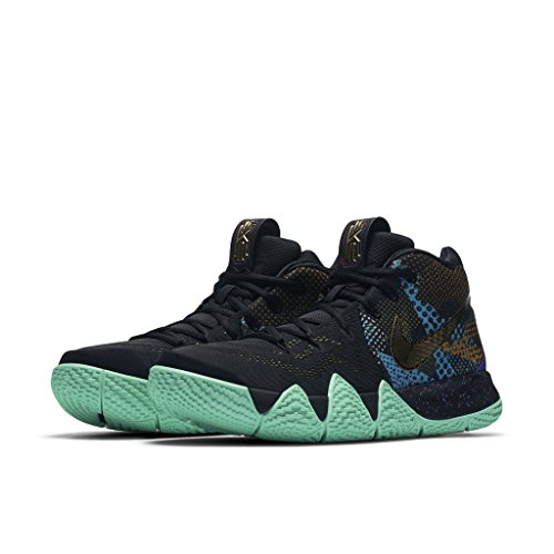 Nike Kyrie 4 Mens Mamba Basket-shoes Av2597 Nero, Giallo Sonic
