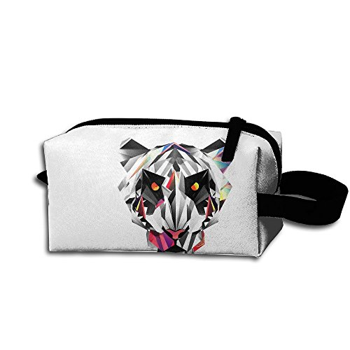 Makeup Cosmetic Bag 3d Animal Model Zip Travel Portable Storage Pouch For Men Women by Huayaa
