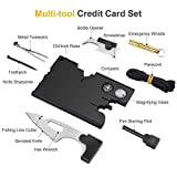 Credit Card Tool Set Card Knife-Mens Gifts-18 IN