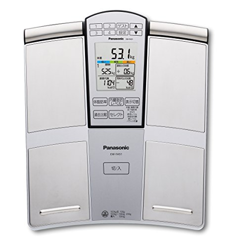Panasonic Body composition balance meter EW-FA51-S (Silver tone) by N/A