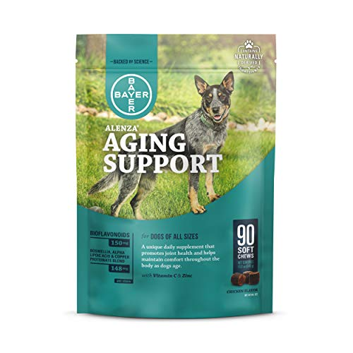 Alenza Soft Chews Aging Support for Dogs, 90 count