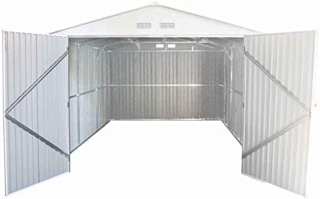 habitatetjardin Garaje en Metal Nevada con Puerta abatible - 18 ...
