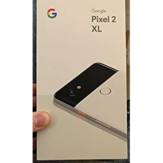 Pixel 2 XL Unlocked GSM/CDMA (Black/White, 64GB)