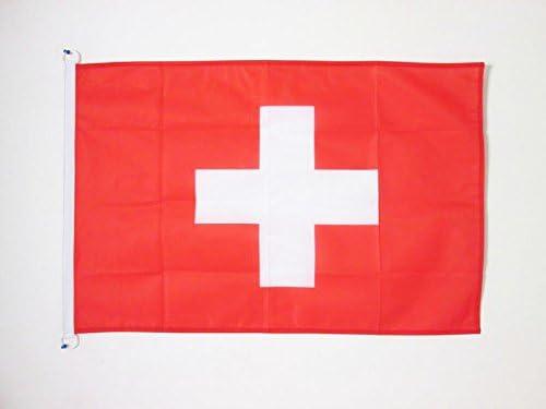 AZ FLAG Bandera de Suiza 90x60cm Uso Exterior - Bandera Suiza 60 x ...