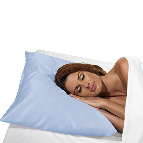Betty Dain Satin Pillowcase With Zipper, Standard / Queen