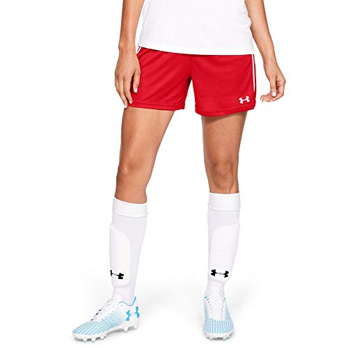 Under Armour Maquina 2.0 Shorts, Red (600)/White, Small