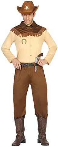 Atosa- Disfraz Hombre Cowboy Vaquero Sheriff, XL (17941 ...