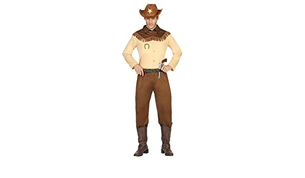Atosa- Disfraz Hombre Cowboy Vaquero Sheriff, XL (17941): Amazon ...