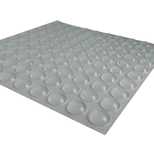 China Door Furniture - 100Pcs/200Pcs Self-Adhesive Rubber Feet Clear Round Bumper Door Buffer Furniture Pad (100Pcs)