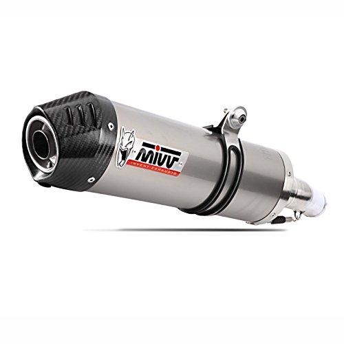 Auspuff Mivv Oval 2 Kawasaki ZZR 1400 06-07 Titan// Carbon