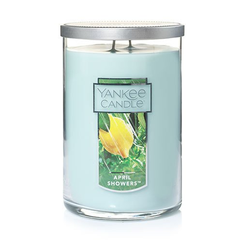 Yankee Candle April Showers Large 2-Wick Tumbler Candle, Fresh Scent Yankee Candle Company