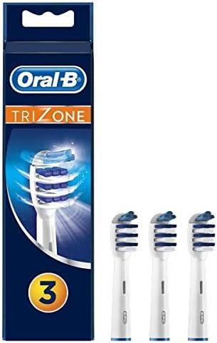 Oral-B Trizone Brossettes De Rechange x3, Recharge Originale Pour Brosse À Dents Électrique