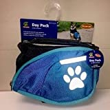 TOP PAW Reflective Blue Dog Backpack ~MEDIUM~