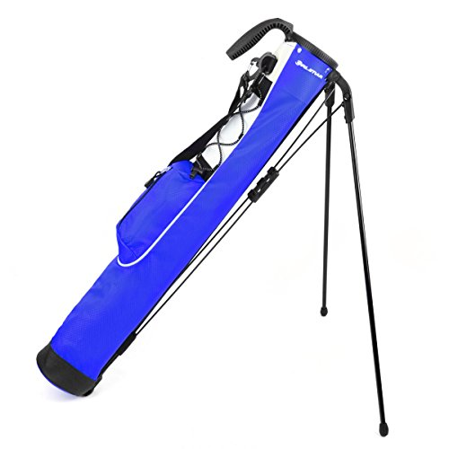Orlimar Pitch & Putt Golf Lightweight Stand Carry Bag, Blue - Fairway Stand Carry Bag