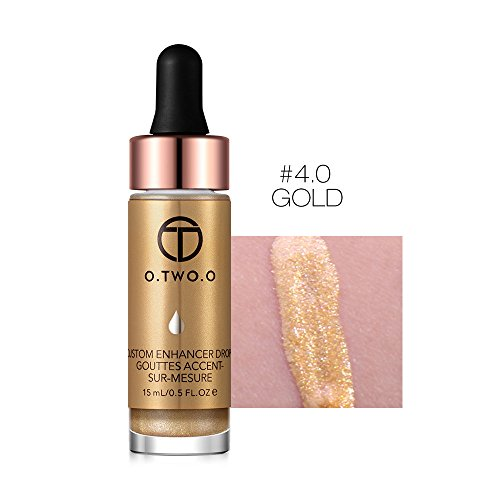 Hanyia Glow Liquid Highlighter Contour Glitter Shimmer Brighten Highlighters For Face and Eyes Makeup