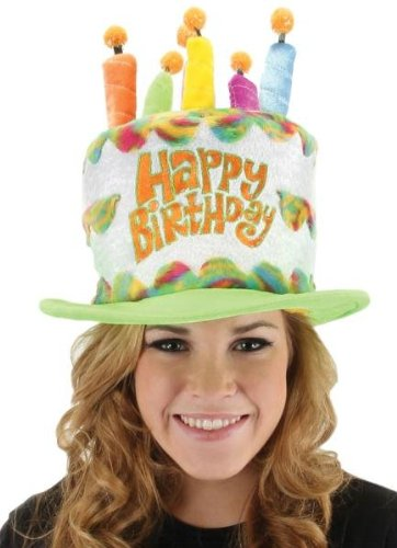Marvelous Costumes For All Occasions El290910 Birthday Cake Hat Amazon Co Personalised Birthday Cards Xaembasilily Jamesorg