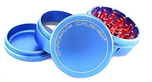 """Chromium Crusher V2 Enhanced Grip 2.5"""" 4 piece Tobacco Spice"""